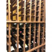 (4) Premier Cru Line of Wine Racks Mahogany