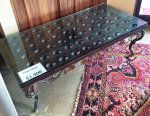 Antique Riddling Rack Coffee Table (PICK UP ONLY)