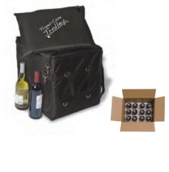 Twelve-Bottle Wine Shipper with Sleeve