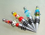 Hand Made Art Glass Bottle Stopper