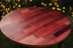 Wine Barrel Circular Table Tops