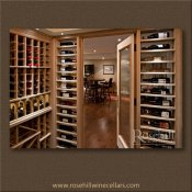 (23) From inside the Wine Cellar looking out through the Wine Cellar Door SL