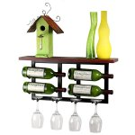 Vinolet Wall Mounted Wine Rack