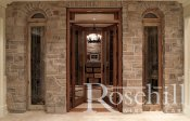 (38) Rustic Brick Entrance to Wine Cellar with Double Doors SL