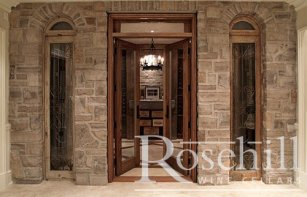 CUSTOM WINE CELLAR DOOR GALLERY