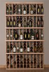 Retail 3 Wood Wine Rack