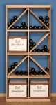 Box Diamond Wine Rack