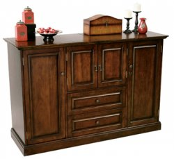 Devino Hide-A-Bar Wine Cabinet