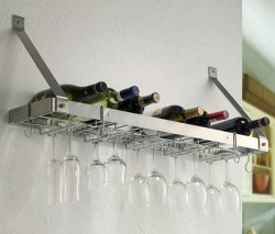 Estate Wine & Glass Rack