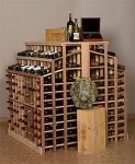 Retail 25 Wood Wine Rack