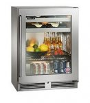SHALLOW DEPTH - Beverage Center with Stainless Steel Glass Door