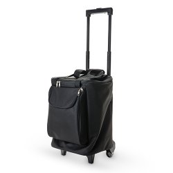 6 Wine Bottle Rolling Suitcase
