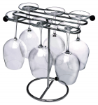 Stemware and Decanter Rack