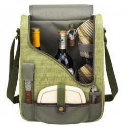 Olive & Tweed Double Wine & Cheese Carrier