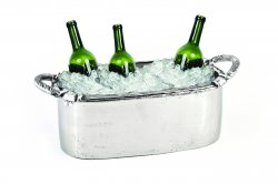 Arcadian Rope Oval Wine Tub