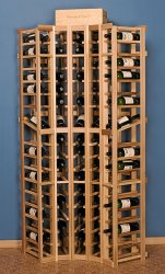 Curved Corner Wine Rack