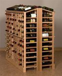 Retail 10 Wood Wine Rack