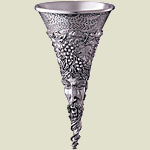 Bacchus Pewter Wine Funnel