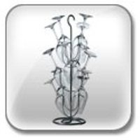 Wine Glass Rack Tree