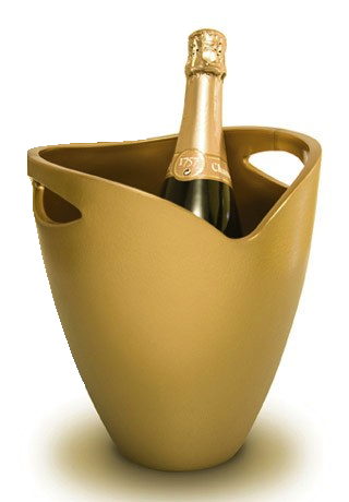 Gold Wine Bucket