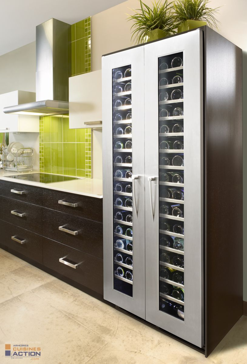 Wine storage in Kitchen