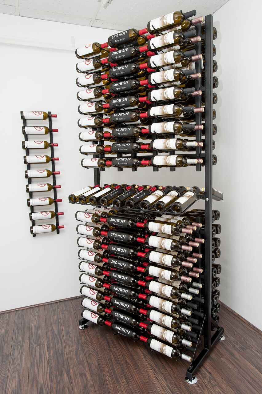 Floor Mount Wine Rack