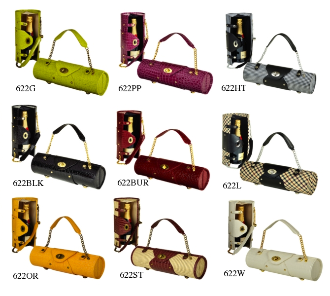Picnic at Ascot - Wine Purses - Colors