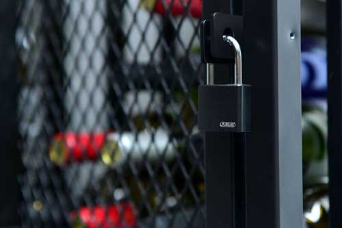 Wine Locker Lock
