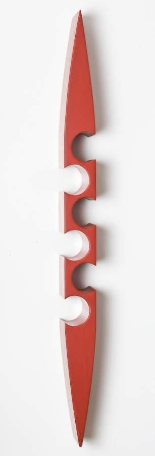 Pinna M Neck Out in Red - Click Image to Close